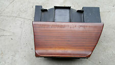 AUDI 80 90 B4 COUPE CABRIO CENTER CONSOLE ASHTRAY TRIM WITH WOOD 893857951C