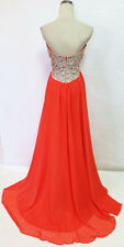 Glamour by TERANI Couture Coral Pageant Gown 8 - $230 NWT