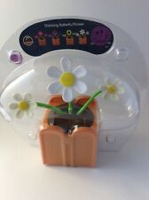 Solar Power Dancing Toy White Flowers Home Car Decor Gift