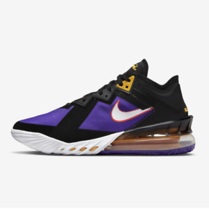 Nike LeBron 18 Low Fierce Purple US 7~13 Men's Shoes - CV7562 003 Expeditedship