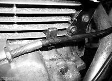 HONDA SUPERDREAM CB250N CB400N 1984 - NOS QUALITY CLUTCH CABLE INSULATOR RUBBER