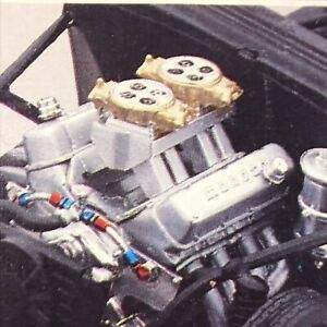 Salvaged Chevy Pro Stock ENGINE Headers Moroso V/C RVL1:25 LBR Model Parts