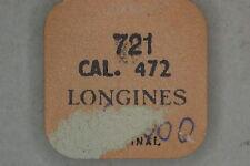 Balance complete LONGINES 472 bilanciere completo 721 NOS