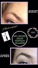 Huile magique repousse sourcils/cils/cheveux