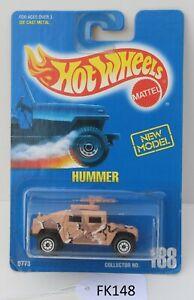 Hot wheels HW Hummer Collector #188 Brown FNQHotwheels FK148