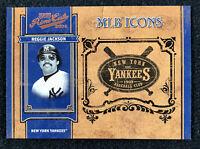 2004 Playoff Prime Cuts MLB Icons Reggie Jackson #26/50 - Yankees