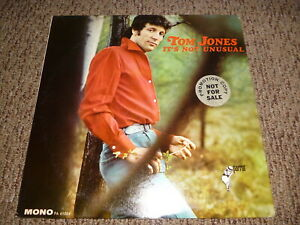 TOM JONES It's Not Unusual LP Vinyl Record Album ORIGINAL MONO PROMO 1965