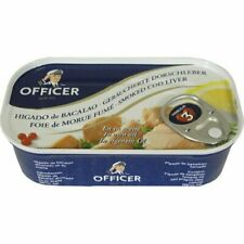 Bornholms Officer Smoked Cod Liver Canned 120g
