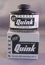 Parker Vintage Permanent Black Bottled Ink--2oz