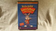 Reader Rabbit Learn To Read Phonics School Edt Teacher User Guide Cd-Rom Pc Mac