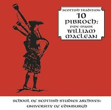 William Maclean - Pibroch - Scottish Tradition Series Vol. 10 (NEW 2CD)