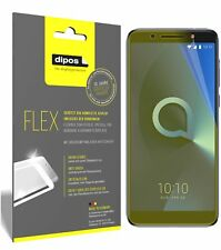 3x Alcatel 3X Screen Protector Protective Film covers 100% dipos Flex