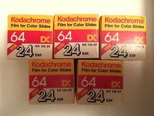 Kodachrome 64 Exp. 01/88 - Kept in Freezer