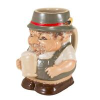 Oktoberfest Beer Stein - Ceramic Lederhosen German Beer Man Mug Holds 24 Ounces