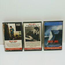 Lot of 3 Billy Joel Cassette Tape 52ND Street Greatest Hits The Bridge Tested