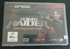 Tomb Raider Video Game N-Gage New 2003 Free Shipping Sealed Starring Lara Croft