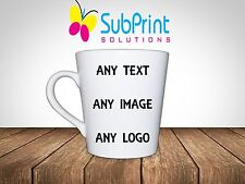 Personalised Printed Latte Coffee,Tea Mug 12oz - Any Image, Logo, name or text