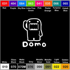 DOMO V3 Vinyl Decal JDM Sticker Window Car