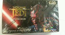 STAR WARS Young Jedi Menace Of Darth Maul BOOSTER Box CCG