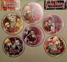 Rozen Maiden & Rozen Maiden traumend Anime - Both DVD Sets - 6 Loose Discs Only