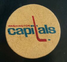 WASHINGTON CAPITALS VINTAGE ART ROSS CONVERSE CCM TYER  OFFICIAL GAME PUCK USA