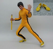 ZY Toys Game Of Death Bruce Lee Sneaker Shoes 1/6 Fit for 12inch Action Figure