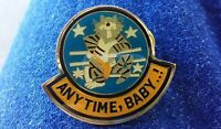 Anytime, Baby...! lapel pin pre-owned TomCat
