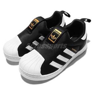 adidas Originals Superstar 360 I Black White TD Toddler Infant Baby Shoes S82711