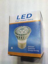 Six NEW, 5W LED Spotlight, High Power E27 Bulbs