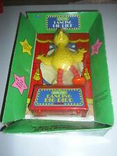Vintage Sesame Street Dancing Big Bird FM Radio NIP 1989 Mint & unused
