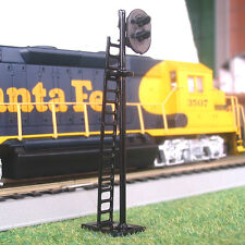 4 pcs HO Scale 2 aspects Railroad Signals 2 lights block signal LEDs made G / R