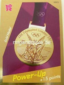 Adrenalyn XL London 2012 - #350 Gold Medal - Power-Up