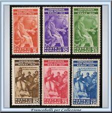 1935 Vaticano Congresso Giuridico n. 41/49 Certific **
