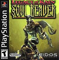 Legacy of Kain: Soul Reaver (Sony PlayStation 1, PS1, 1999) - DISC ONLY