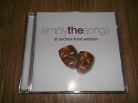 SIMPLY THE SONGS OF ANDREW LLOYD WEBBER - DISC 1 (CD ALBUM) - EXCELLENT