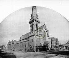 "Boston, MA Catholic churches ""SACRED HEART OF JESUS East"" © 1892 Reprint"
