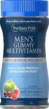 Puritan's Pride Mens Gummy Multivitamins X 60 Gummies Supports Reproductive Heal