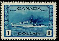 CANADA SG388, $1 blue, LH MINT. Cat £50.