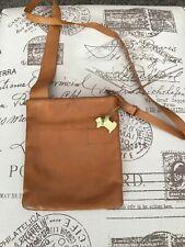 Radley , Leather Cross Body Bag, Tan