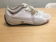 Puma Mens Ferrari Drift Cat Puma White Sneakers Size 10