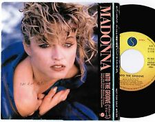"""MADONNA Into The Groove JAPAN PROMO-ONLY 7"""" RECORD w/P/S PS-1031 Free S&H VG--"""