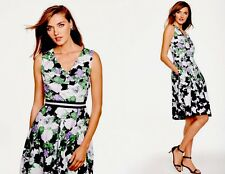 NWT TALBOTS LADYS COTTON FLORAL OPRAH MAGAZINE COLLECTION DRESS SIZE 6P ($190)