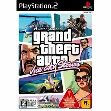 Used PS2 Grand Theft Auto: Vice City Stories Japan Import