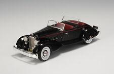 """Packard Twelve Model 1108 LeBaron Sport Phaeton """"Black"""" 1934 (GLM1:43/ 43107301)"""