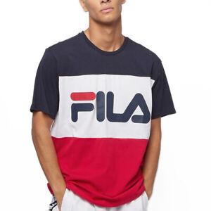 Fila T-shirt da Uomo Manica Corta  Day Blu Codice 681244-R69 - 9M