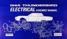 1965 thunderbird electrical assembly manual wiring diagrams 65 ford t bird  tbird
