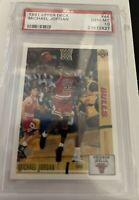 MICHAEL JORDAN PSA 10 GEM-MT 1991 UPPER DECK #44 / FIRST U.D. CARD INVEST!