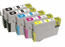 KIT 5 CARTUCCE COMPATIBILI PER EPSON STYLUS OFFICE BX305FW BX320FW NERO E COLORE