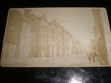 Cdv old photograph high street by Surrey Photo co at Guildford c1880s