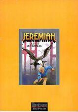 JEREMIAH LA NUIT DES RAPACES REPERAGES DUPUIS 1995 (RARE ALBUM OFFERT)